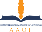 American Academy of Oral Implantology logo